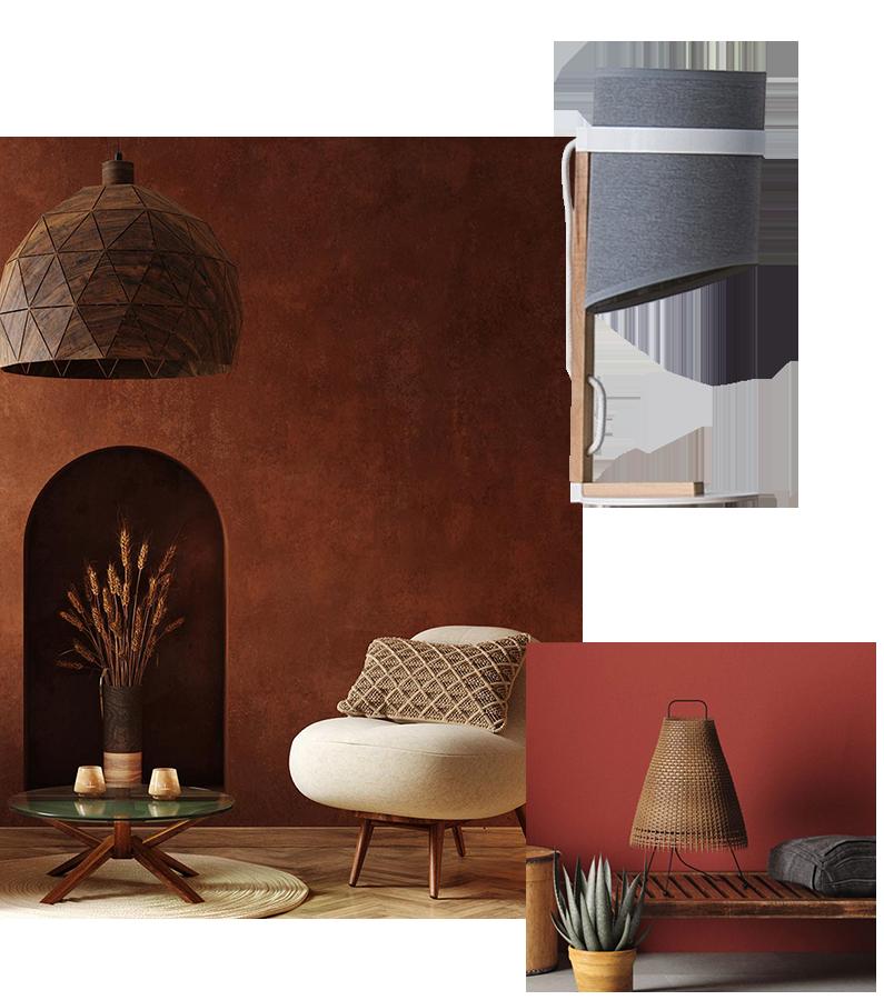 iluminacion para interiores y exteriores