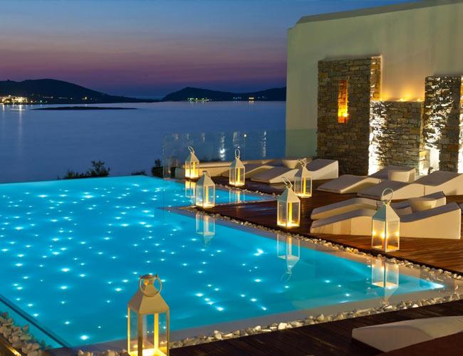 iluminacion para piscinas