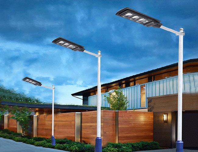 lamaparas solares suburbanas