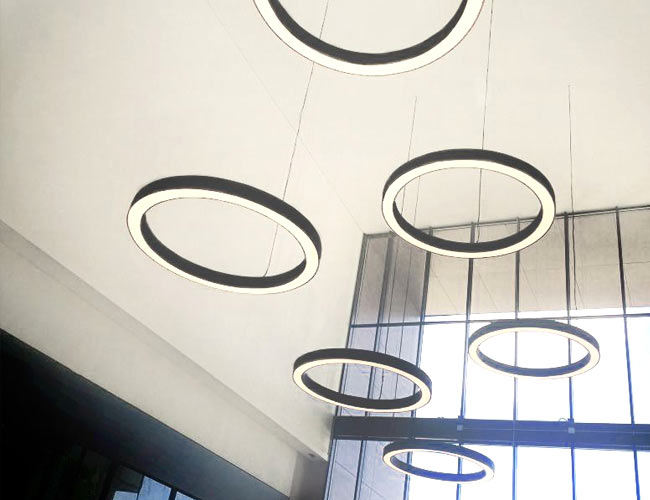 lamparas doble altura construlita