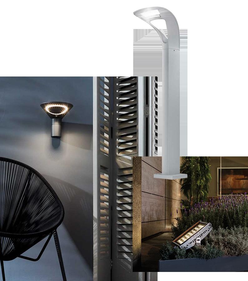 lamparas exteriores