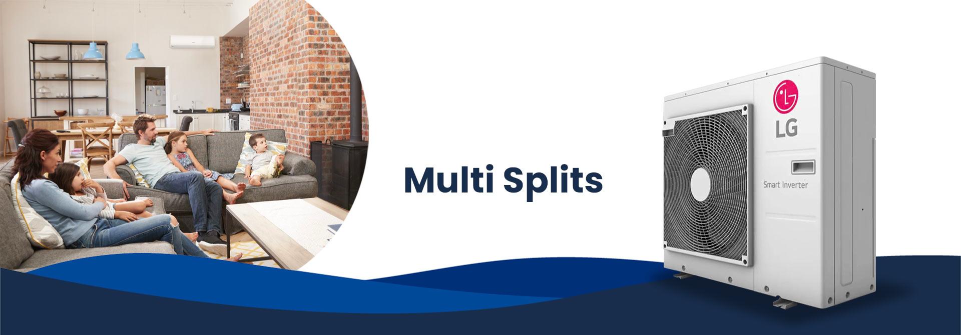 venta de multi splits
