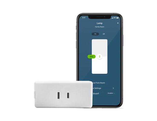 mini tomacorriente Decora inteligente wifi D23LP-Z02-2RW