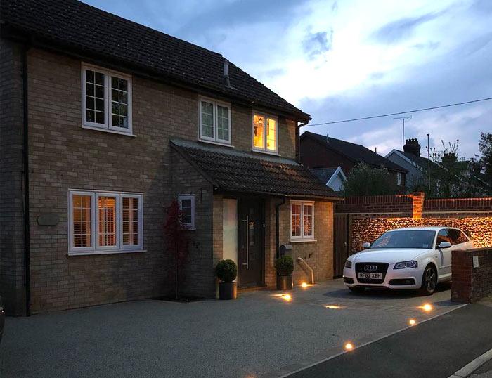 iluminacion piso exterior