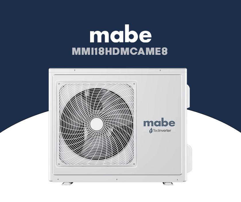minisplit mabe MMI18HDMCAME8