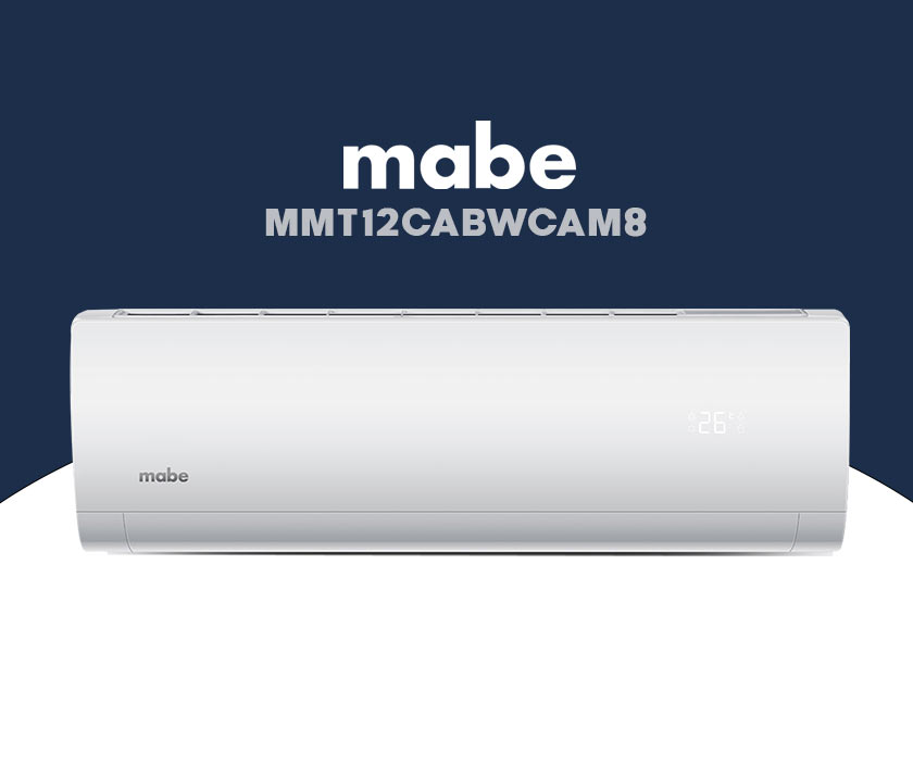 minisplits mabe MMT12CABWCAM8